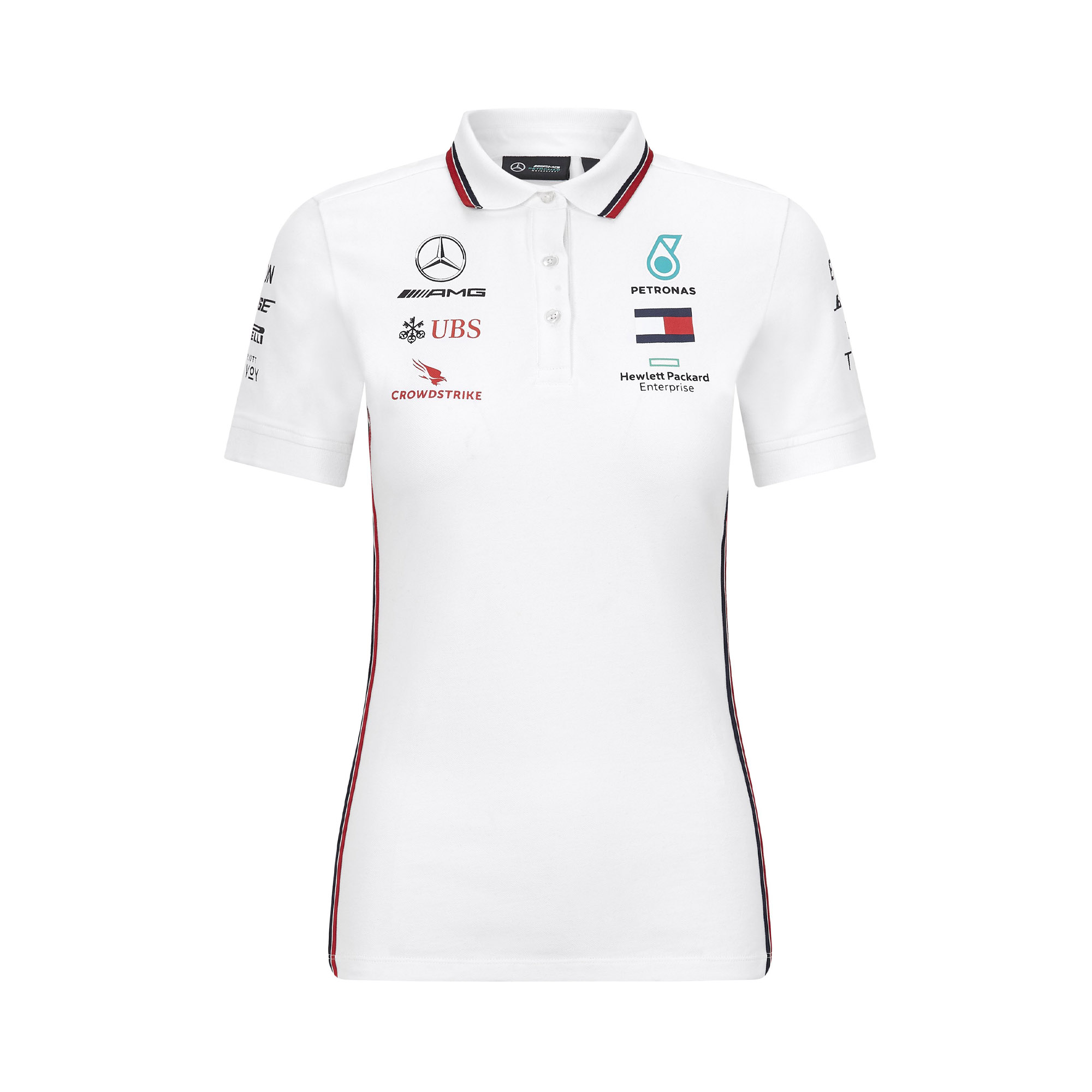 Mercedes Ladies Replica Polo T-Shirt
