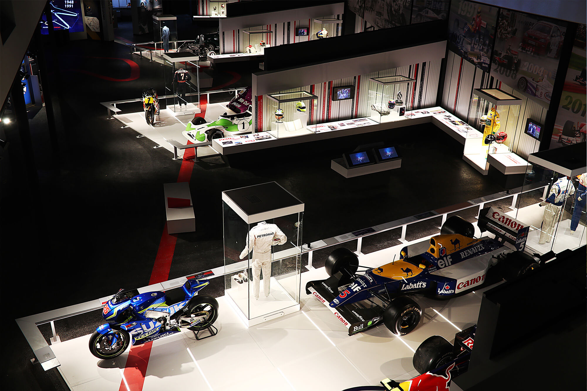 inside the Silverstone experience museum
