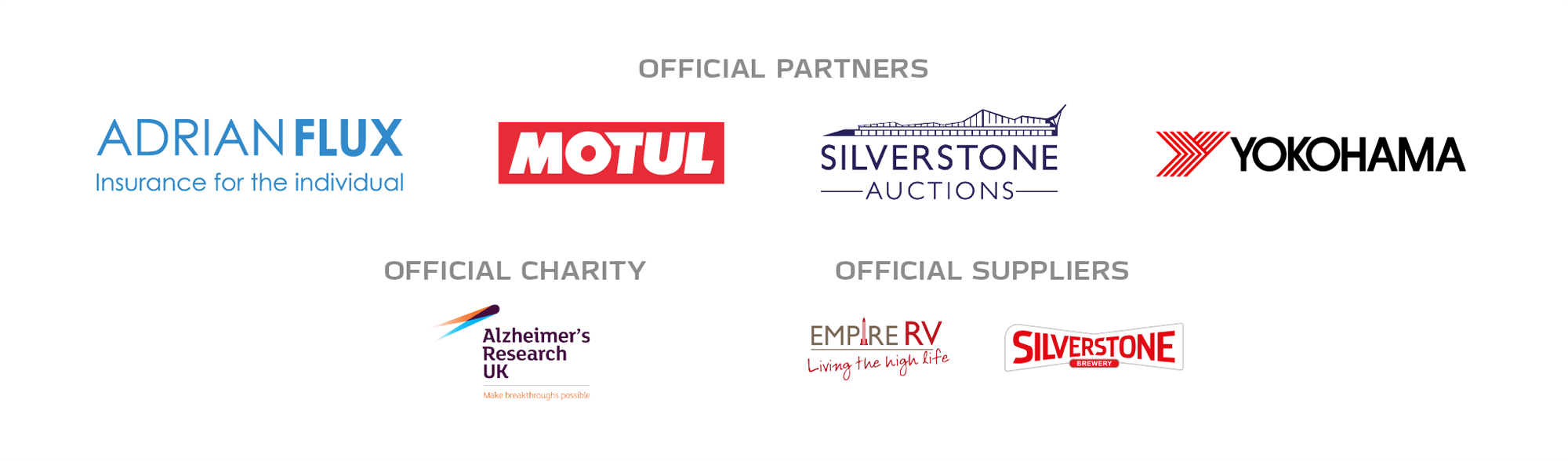 The Classic partner logos